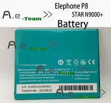 Elephone P8 батарея 3200 мАч батарея для звезды N9000 + смартфон + отслеживая