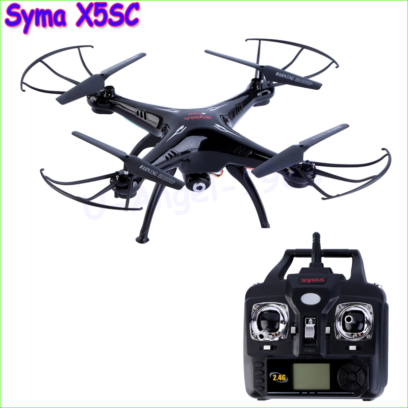 Фотография 100% Original New Version Syma X5SC 2.4G 6 Axis GYRO RC Quadcopter RTF RC Helicopter with 2.0MP Camera Syma X5C Upgraded