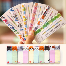 Pussy Cat Mini 150 Pages Cute Cartoon Sticker Post It Bookmark Index Sticky Notes Drop Shipping(China (Mainland))
