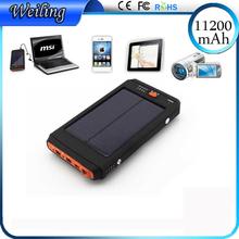 Tropweiling Solar 18650 power bank box 11200mah 4.2v 8.4v 12.6v 19v solar battery charger solar powerbank For Laptop /phones