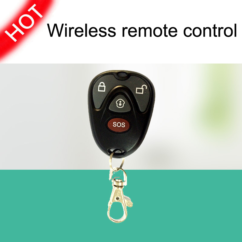 Free shipping wireless remote control GS-RMC07 for GSM/WiFi LED Touch Screen GS-G90B Burglar Home Security Alarm System<br><br>Aliexpress