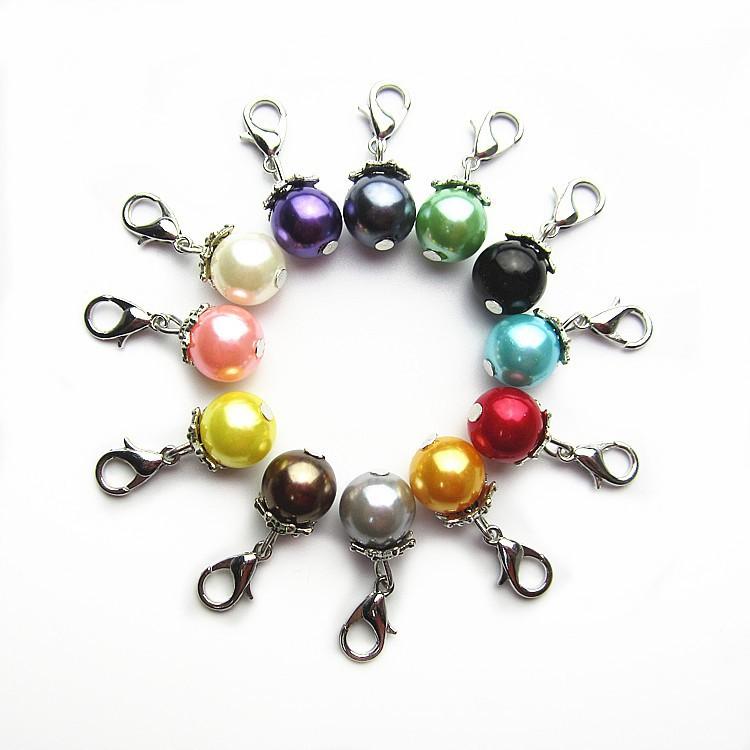 pearl dangle charms
