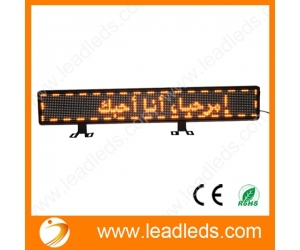 New LED car advertising display taxi yellow LED car sign LED Programmable Message Sign(China (Mainland))