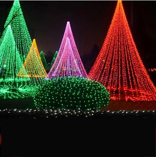 Christmas Tree Lights Half A String Out : LED lights flashing string lights Christmas tree lights led waterproof outdoor wedding Christmas ...