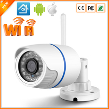 New Arrival 802.11 b/g Wireless Surveillance Cameras IP 720P/960P/1080P  Wifi Camera IP ONVIF 2.0 Outdoor Bullet Security CCTV(China (Mainland))