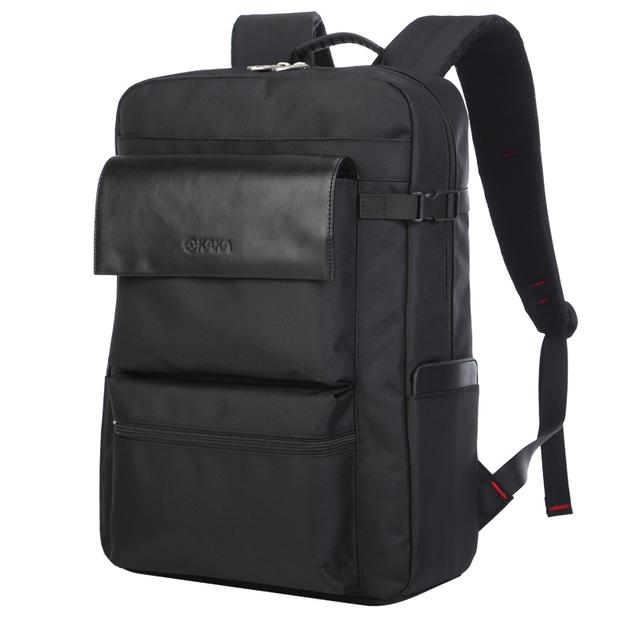 Вводонепроницаемый рюкзак для мужчин из искуственной кожи.Для компьютерного бизнеса, ...