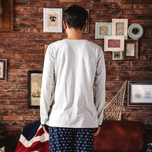Song Riel fashion men and women long sleeved pajamas cartoon couple big yards quality cotton tracksuit