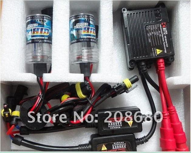 H1 H3 H4 H7 H8 H10 9004 9005 9006 9007 single beam bulb HID KIT SET HID XENON SYSTEM hid conversion xenon kit 35W 12V(China (Mainland))