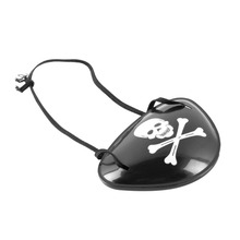 Hot Worldwide Pirate Eye Patch Skull Crossbone Halloween Party Favor Bag Costume Kids Toy(China (Mainland))