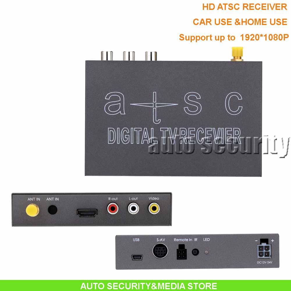 2016 CAR&HOME USE FULL HD1920*1080P ATSC Receiver, digital TV receiver box for USA market(China (Mainland))