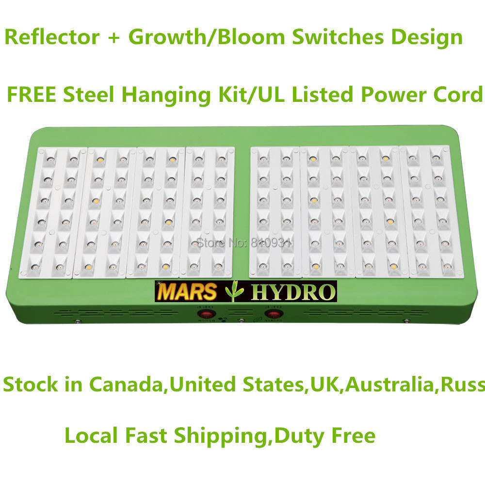 New Switchable 480W Led Grow Light Growth Flower Switches Plant LED Grow Panel 300W For Indoor Grow,Hydroponic Tents(China (Mainland))