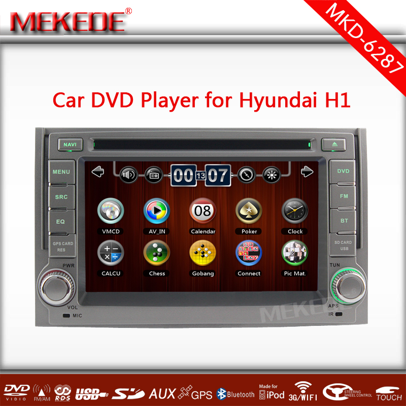 "free shipping Updated WIN CE MTK3360 6.2"" Vehicle GPS Navigation for Hyundai H1/Grand Starex Support Steering Wheel Control(China (Mainland))"