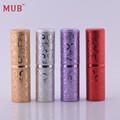 MUB – New Arrival 5ML Portable Mini Travel Perfume Bottle Vaporizador 10 Colors Parfum Bottles For Spray Scent Pump Case