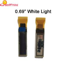 2pcs 0.69 Inch oled display white lightinterface i2c  Driver IC SSD1306(China (Mainland))
