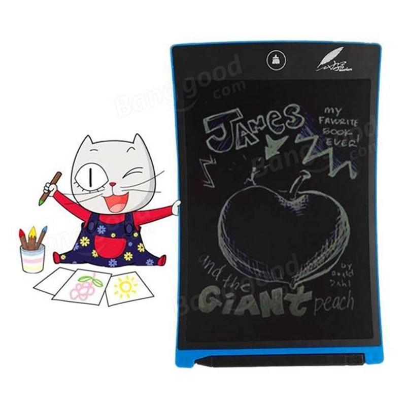 Howshow Mini Writing Tablet Writing Board E-Note Paperless LCD Writing Tablet Office Family School Drawing Graffiti Toy Gift(China (Mainland))