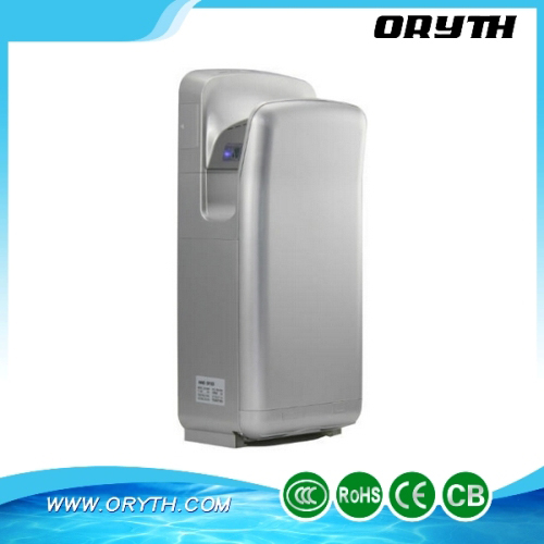 Blade Brushless Jet Airflow Hand Dryer with antibacterial coating Top Quality automatic hand dryer Drying hands with 10 Seconds(China (Mainland))