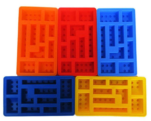 Lego Rectangular Blocks Ice Tray