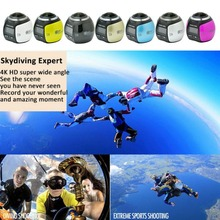 360 Degree  Mini WiFi HD 2448P 30fps Sports Action DV Waterproof Panoramic Video Camera(China (Mainland))