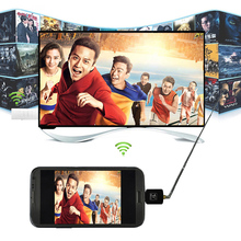 Micro USB Digital Mobile TV HDTV Tuner Mini DVB-T Satellite Receiver for Android DVBT Dongle with Antenna (China (Mainland))