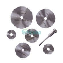 New Portable Rotary Tool Circular Saw Blades Cutting Discs Mandrel For Dremel Cutoff #56400
