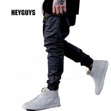 HEYGUYS 2016 fashon Фитнес Длинные Брюки Мужчины Случайные Штаны Багги Jogger Брюки Мода Встроенная Топы уличной хип-хоп(China (Mainland))