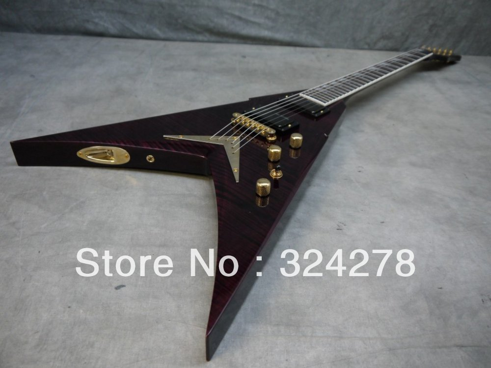 Best selling Hot Limited Edition Dave Mustaine VMNT Signature Electric Guitar(China (Mainland))