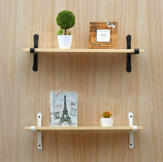 Wall Decoration Racks : Pc wall hanging shelf goods convenient rack storage