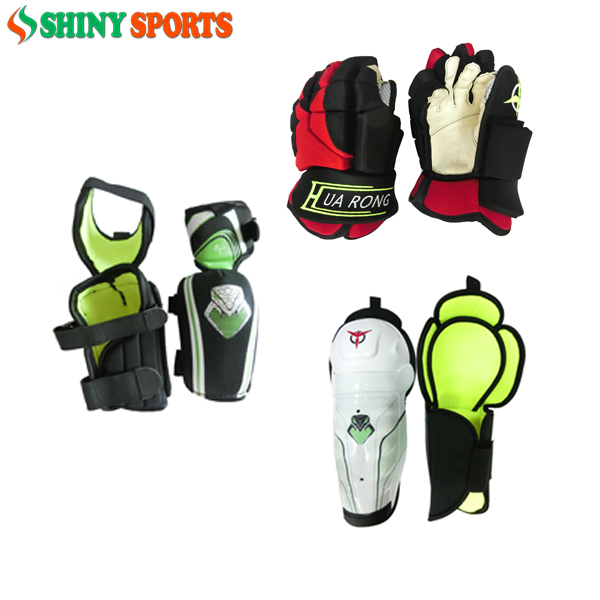 New Ice Hockey Protectors hockey knee pads hockey elbow pads hockey gloves for adult men and women