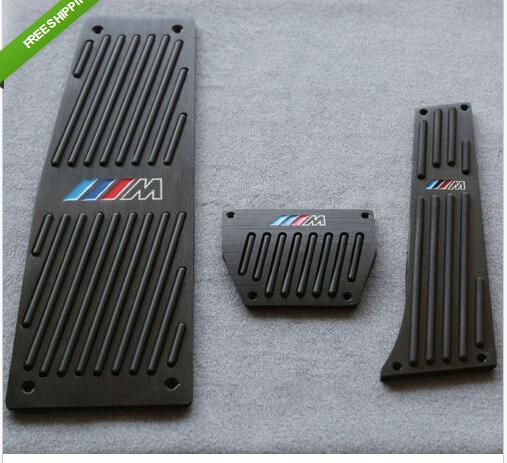 Black Fuel Brake Foot Rest AT Pedals For BMW M-TECH e60 e61 e63 e64 F10 X5 E70<br><br>Aliexpress