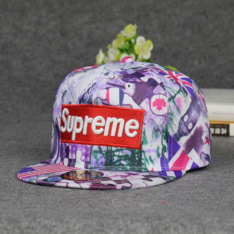 Spring And Summer New Pattern Supreme Hip-hop Cap Tide Male National Flag Plain Cap Woman Korean Baseball Hat(China (Mainland))