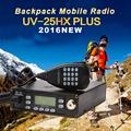 Backpack Mobile Transceiver Automotive Radio Station LEIXEN UV25HX Plus 136 174MHz 400 480MHz VV VU UU