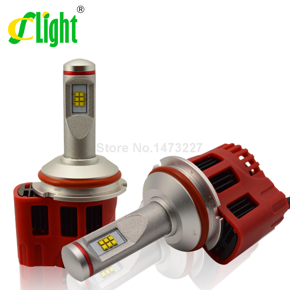 Фотография 9007 HB5 Leds 3000K 5000K 6000K Canbus ZES 9000lm High Low Beam Car LED Bulb Headlight Fog Light Conversion Kit