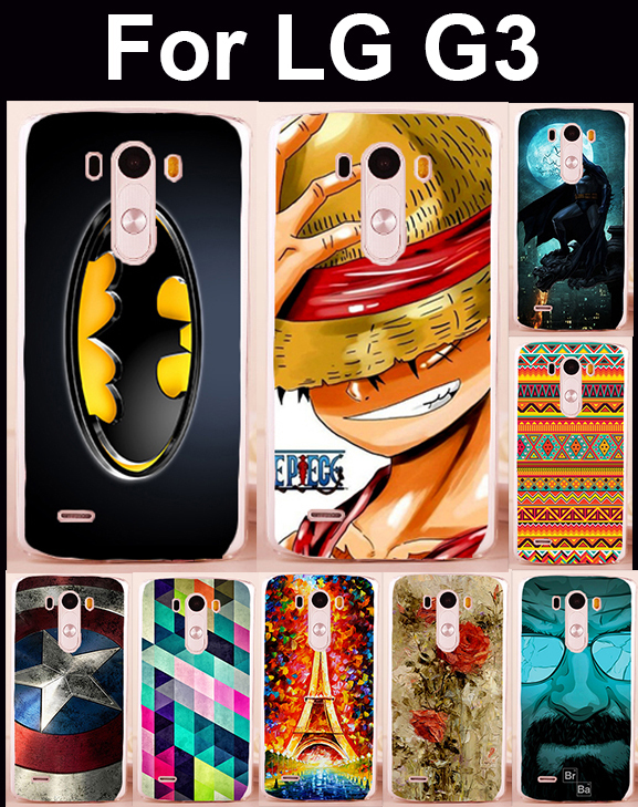 mobile phone cases hard Back cover Skin Shell For LG Optimus G3 D831 LS990 F400K Case cell phone bags Housings Bag Shield Cases(China (Mainland))