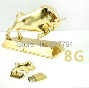 USB Flash Drive Disk Wall Street bull Pen 4GB 8GB 16GB 32GB 64GB USB2.0 - Smile Digital Technology Co., Ltd. store
