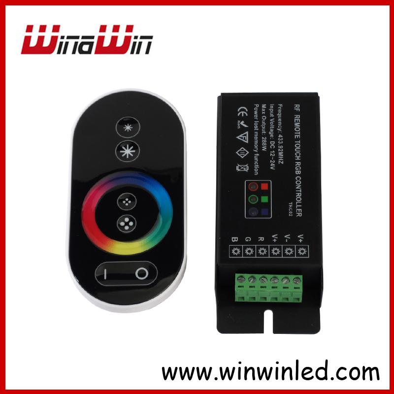 DC12-24V RGB RF Touch Controller 288w  For RGB Led Strip Lighting RF Touch RGB LED Controller Free Shipping<br><br>Aliexpress