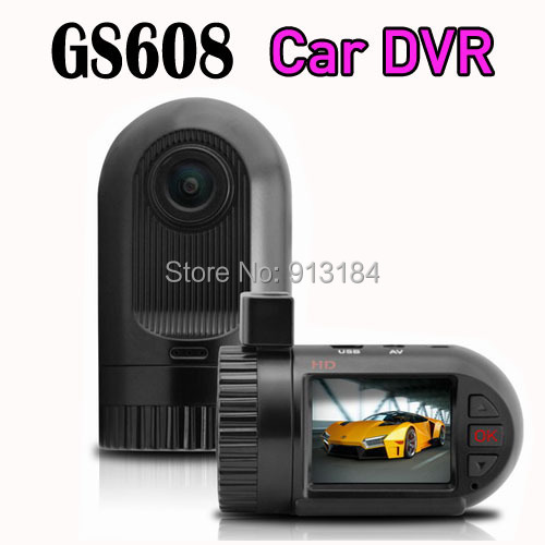 Mini Car DVR Dash Cam GS608 Novatek Car Black Box with 1 5 inch LCD Screen