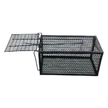 GSFY-Humane Rat Cage Trap Live Animal Catcher No Poison Pest Control Indoor+Outdoor Black(China (Mainland))