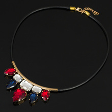 Buy 2016 Trendy Pendants Link Chain Collar Long Plated Enamel Statement Bling & Fashion Necklace Women Jewelry #N015 for $2.09 in AliExpress store
