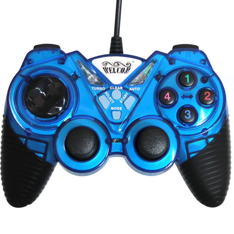 Freeshipping Black USB Wired Game Controller Joystick Gamepad For Tablet Laptop PC(China (Mainland))