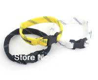 Sale 2013 newest style fashion charm cheap cottton simple casual sport buckle wristband/bracelet, wholesale free shipping