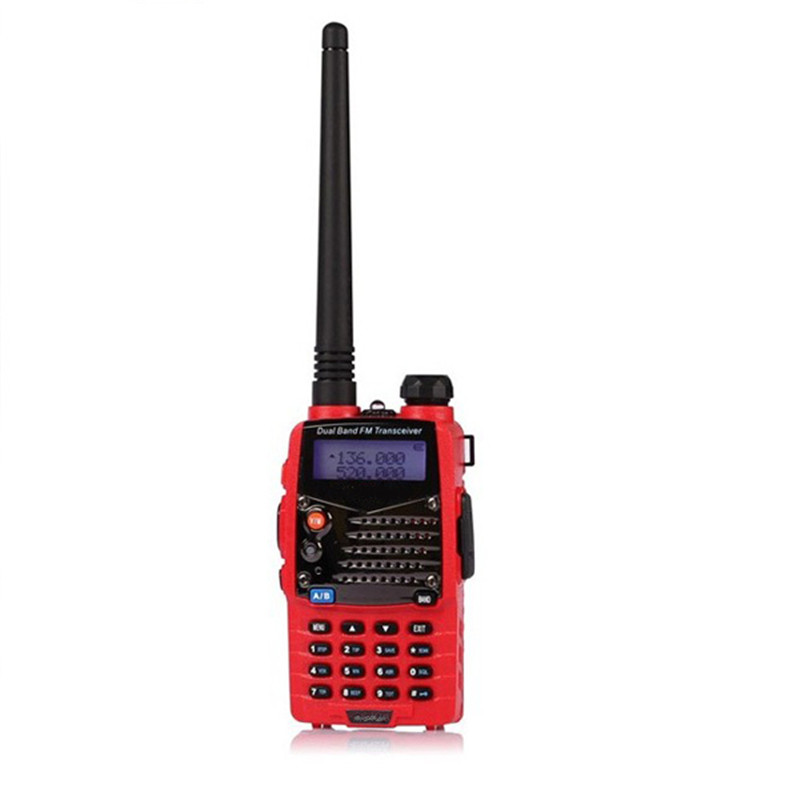 Red Dual Handheld Transceiver Radio Walkie Talkie For Personal Safely Security New Arrival High Quality(China (Mainland))
