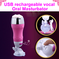 usb 12 functions oral sex product electric masturbator for men pussy electric sex toys hands free