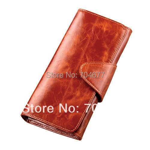 2015 New women's design wallet fashion ladies' zipper coin purse genuine leather couple clutch mobile phone holder  -  Meet Fashion by Chance store