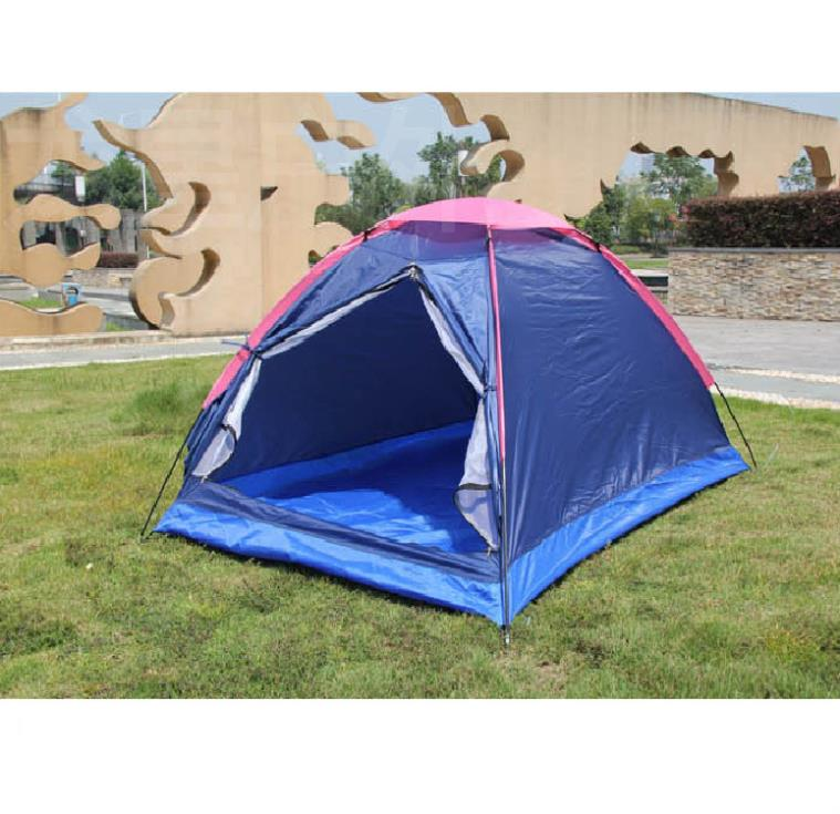 I Manufacturers wholesale supply tendon Double folding waterproof outdoor beach tent camping travel Relief Lotion(China (Mainland))