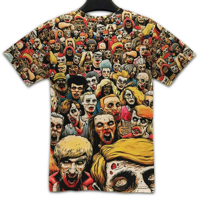The Walking Dead T-Shirts – High Quallity Crewneck Short Sleeve Tees