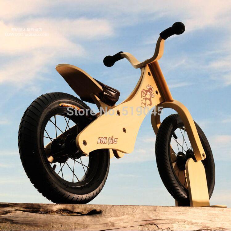 wooden motorbike balance bike 2