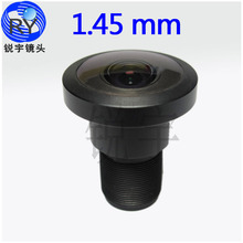 special offer  F1.8 wide angle 6MP Panoramic lenses /CCTV Lens 1.45mm 180 degrees fisheye M12  mount lens