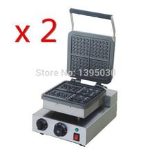 2 шт./лот бесплатная доставка DHL FY-218 электрический вафельница вафли пекарь плед торт печь Sconced машина отопление машина