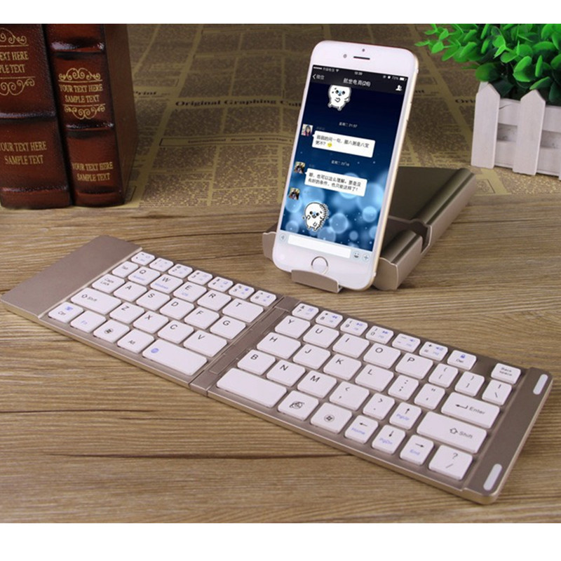 GOESTIME Universal Mobile Phone Luxury Bluetooth Keyboard Case For iPhone Samsung iPad mini Bluetooth Keyboard For Tablets(China (Mainland))