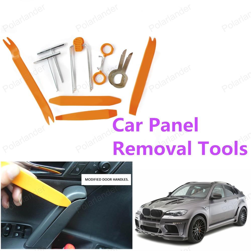 12 шт./компл. горячая распродажа ремонт автомобилей комплект инструментов автомобиля средство для удаления панели высокое качество